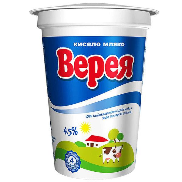 Кисело мляко Верея 4.5%